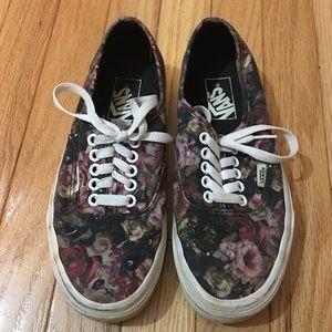 Vans Moody Floral Classic Shoe